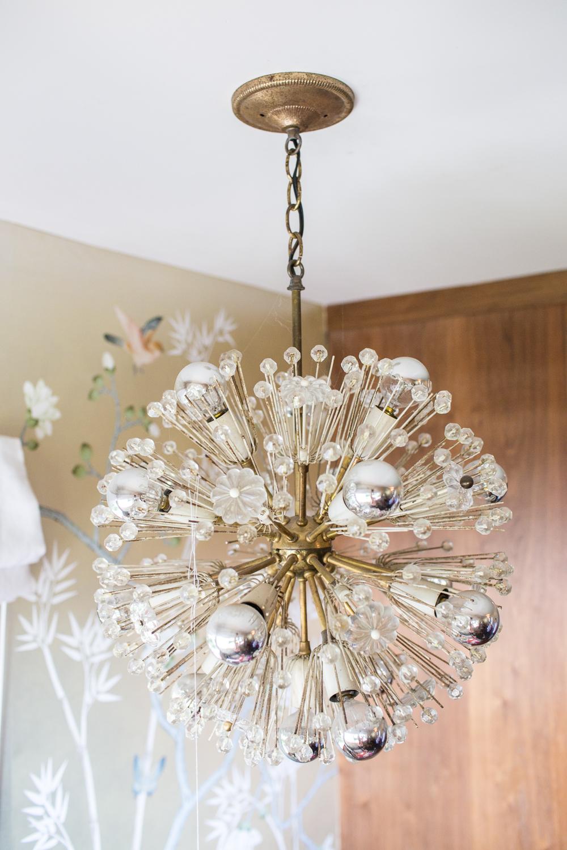 Modern Glam Nursery Lucite Metallic Childrens Room accessories 6