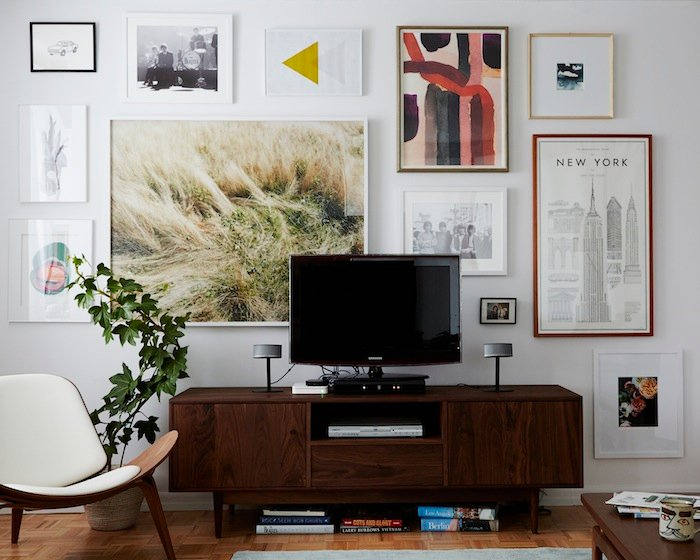 The guide to a well hung gallery wall | Emily Henderson