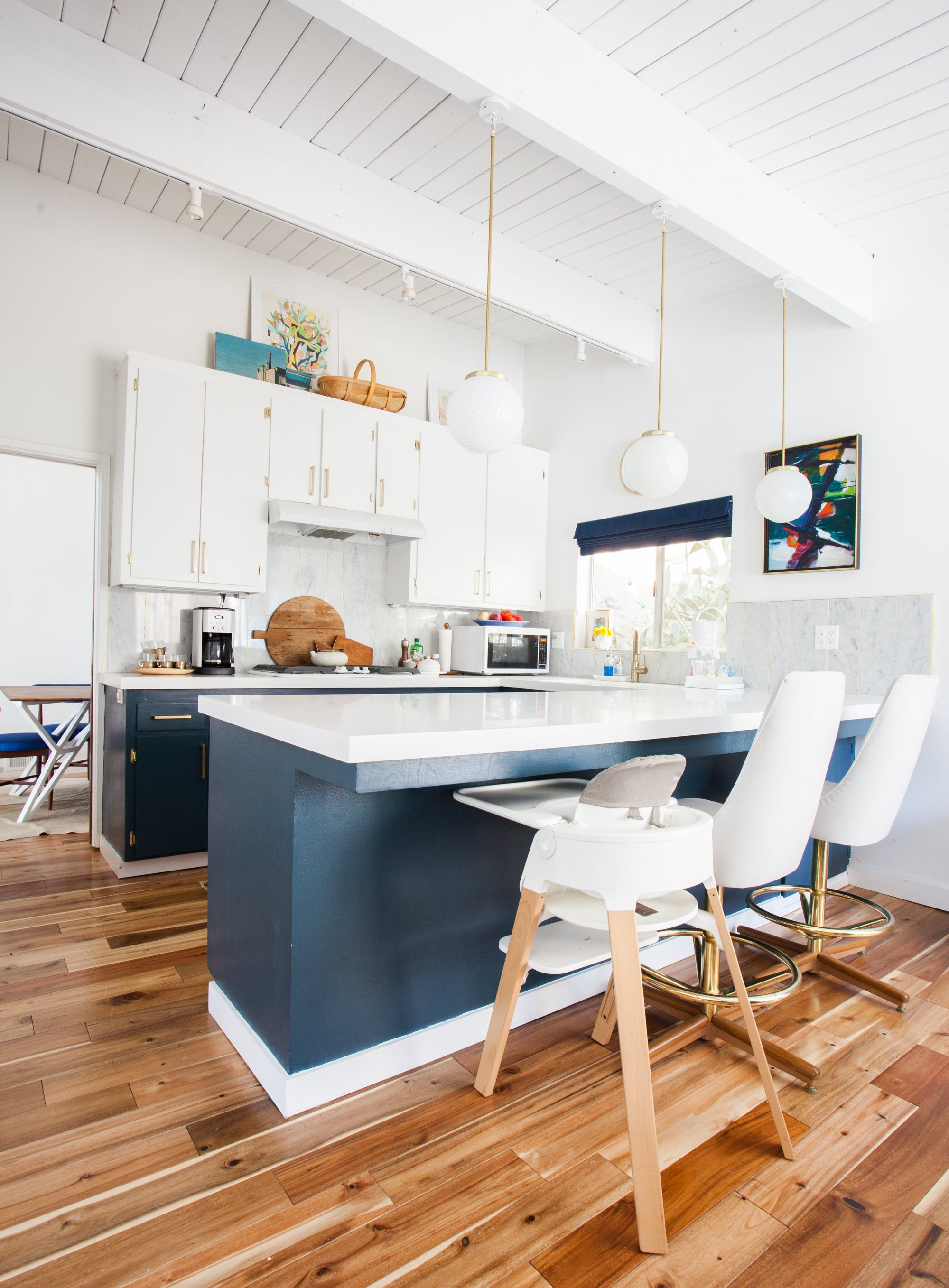 kitchen_after_everyday living blue white brass