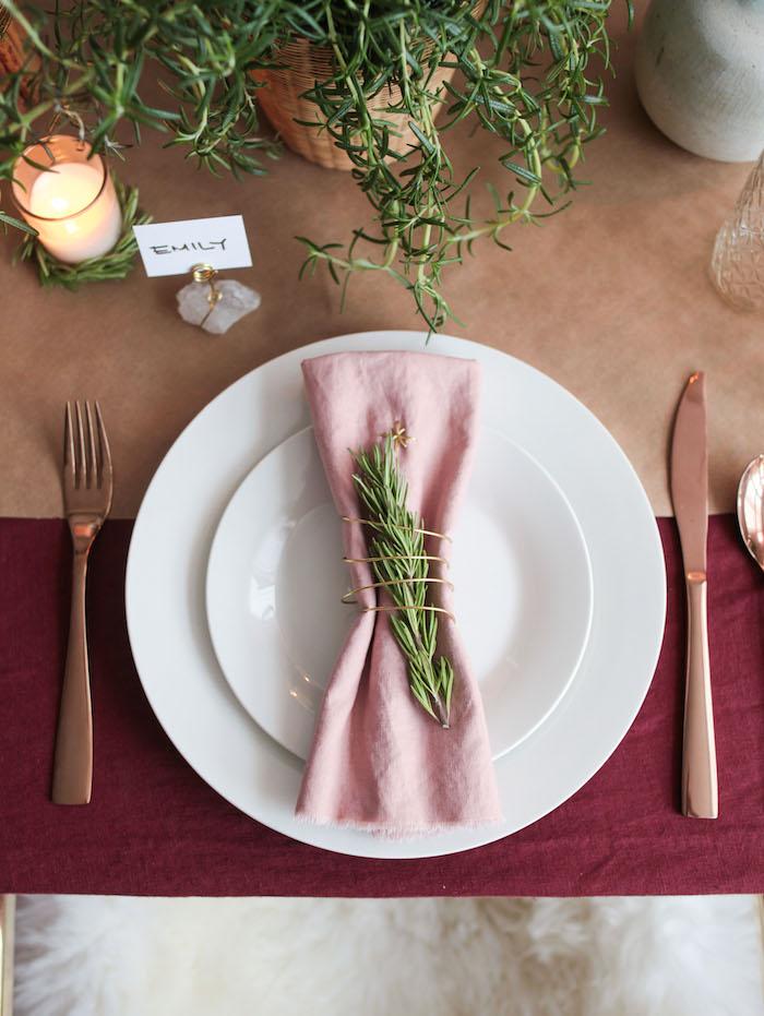 linen napkin diy