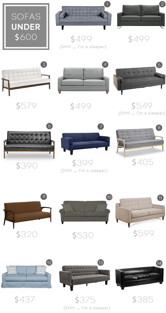 Best Sofas under $600_budget sofa_modern_midcentury_affordable_roundup_emily henderson
