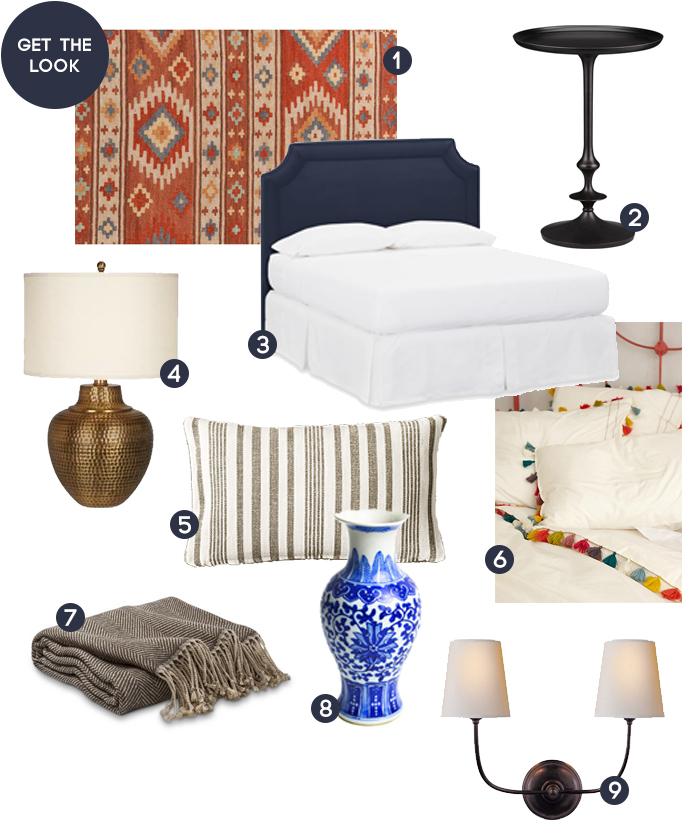 Get the Look_Shana Guest Bedroom