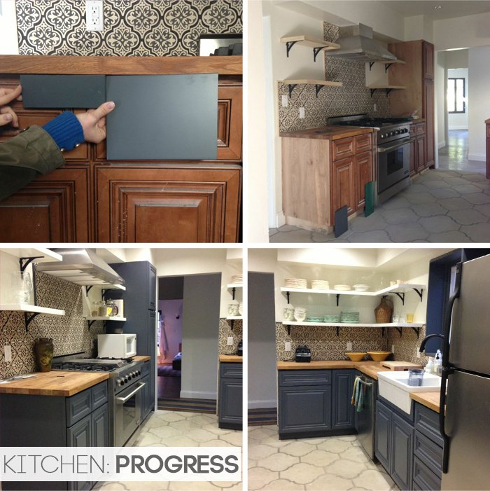 California Country_Kitchen_Emily Henderson_progress 3