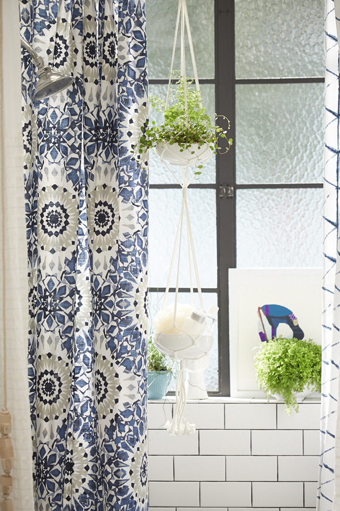 Target_Emily Henderson_Bathroom_Blue White Green Eclectic Bohemian ...