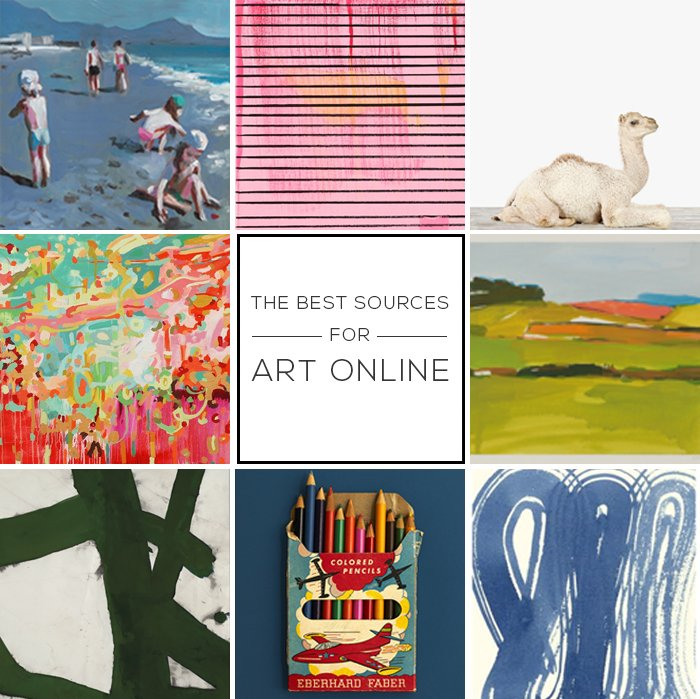 The Best Sources for Art Online_modern art_online roundup_affordable_emily henderson_photography_cheap_revisedheader