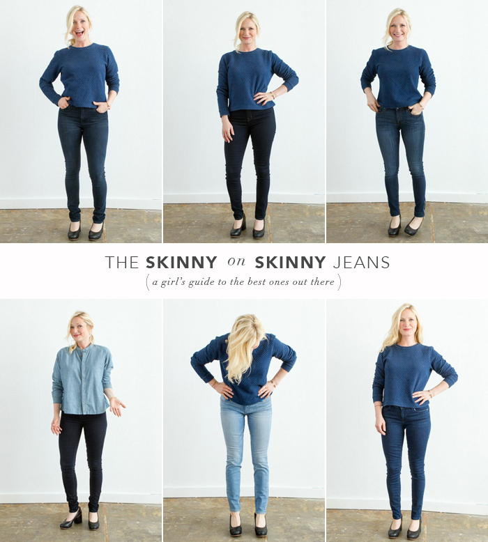 Guide to Skinny Jeans_Fashion_Emily Henderson_Best Jeans_Affordable_with copy_grid