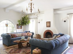 emily-henderson-facing-chesterfields-global-traditional-spanish-living-room