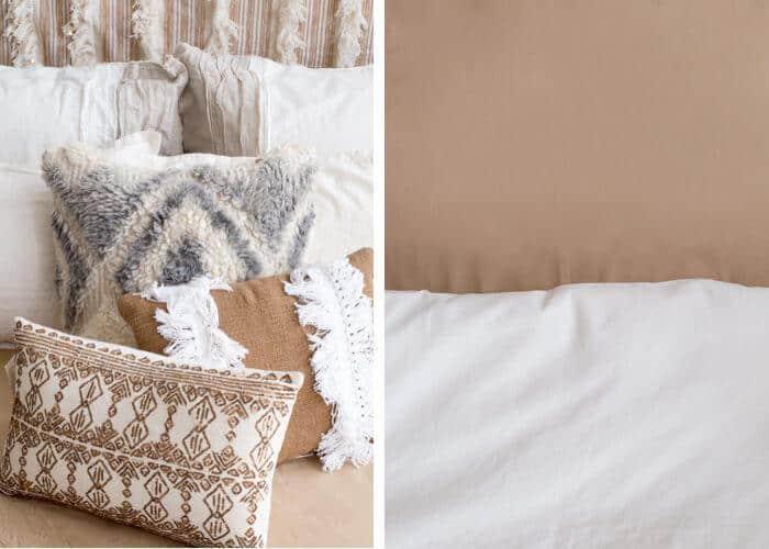 1 Bed 4 Ways_Desert Casual Glam_Neutral_Linen_Gold_Emily Henderson_1