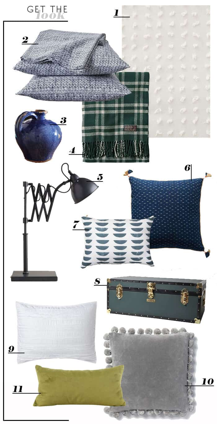 Blue and Green Cabin Casual_get the look
