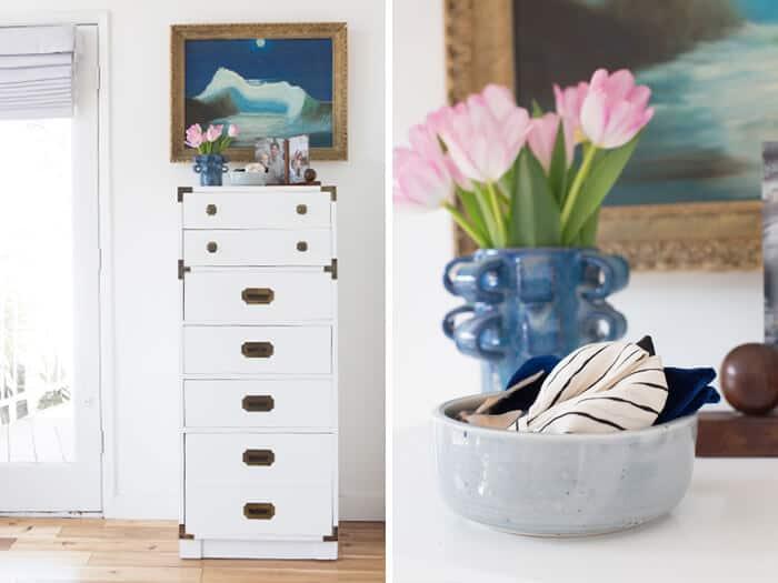 Master_Bedroom_White_Dresser_Gold_Detail