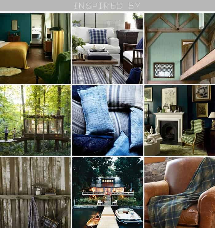 inspiration_blue green_lakehouse_cabin_casual_ grid