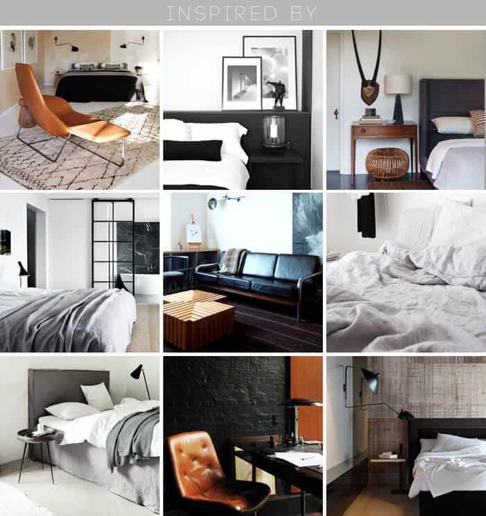 inspiration_masculine_clean_white_black_minimal_bedroom_ grid