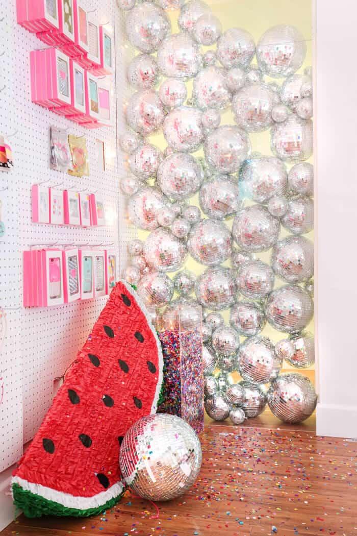 disco-ball-installation