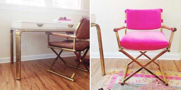 Hot_Pink_Vintage_Chair