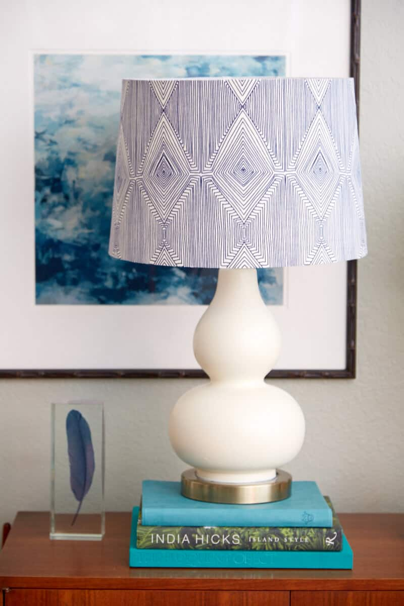 Lamp Diy Paint Rope And Fabric