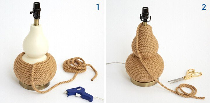 Redbook_DIY_1 Lamp 3 Ways_handmade_emily henderson_rope lamp_steps