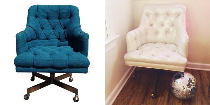 Reupholstering_Vintage_Tuffted_Chair