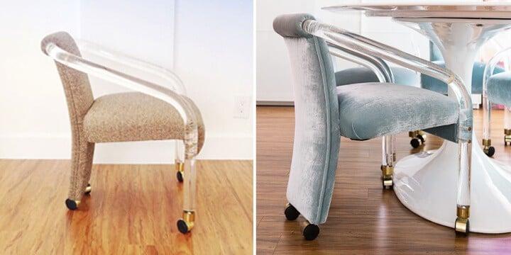 Vintage_Lucite_Velvet_Chair