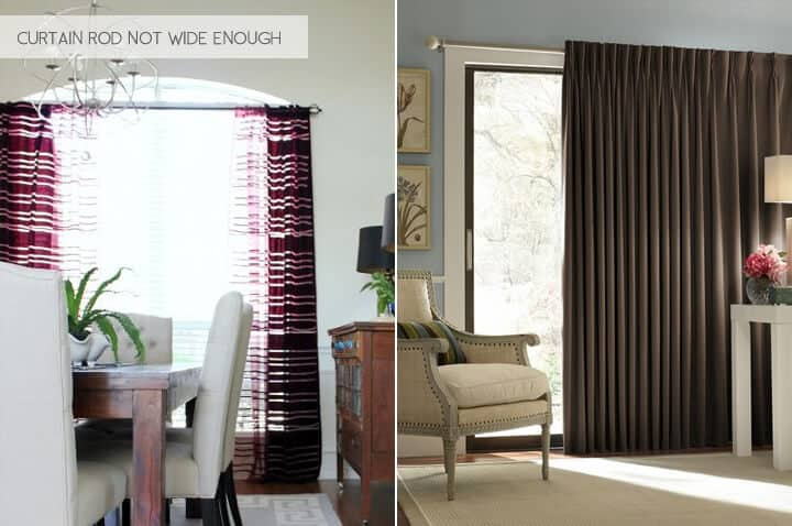 Emily Henderson_Design Mistakes_Curtains Rod Not Wide Enough