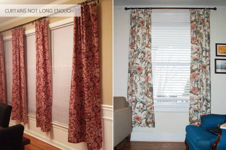Emily Henderson_Design Mistakes_Curtains not long enough