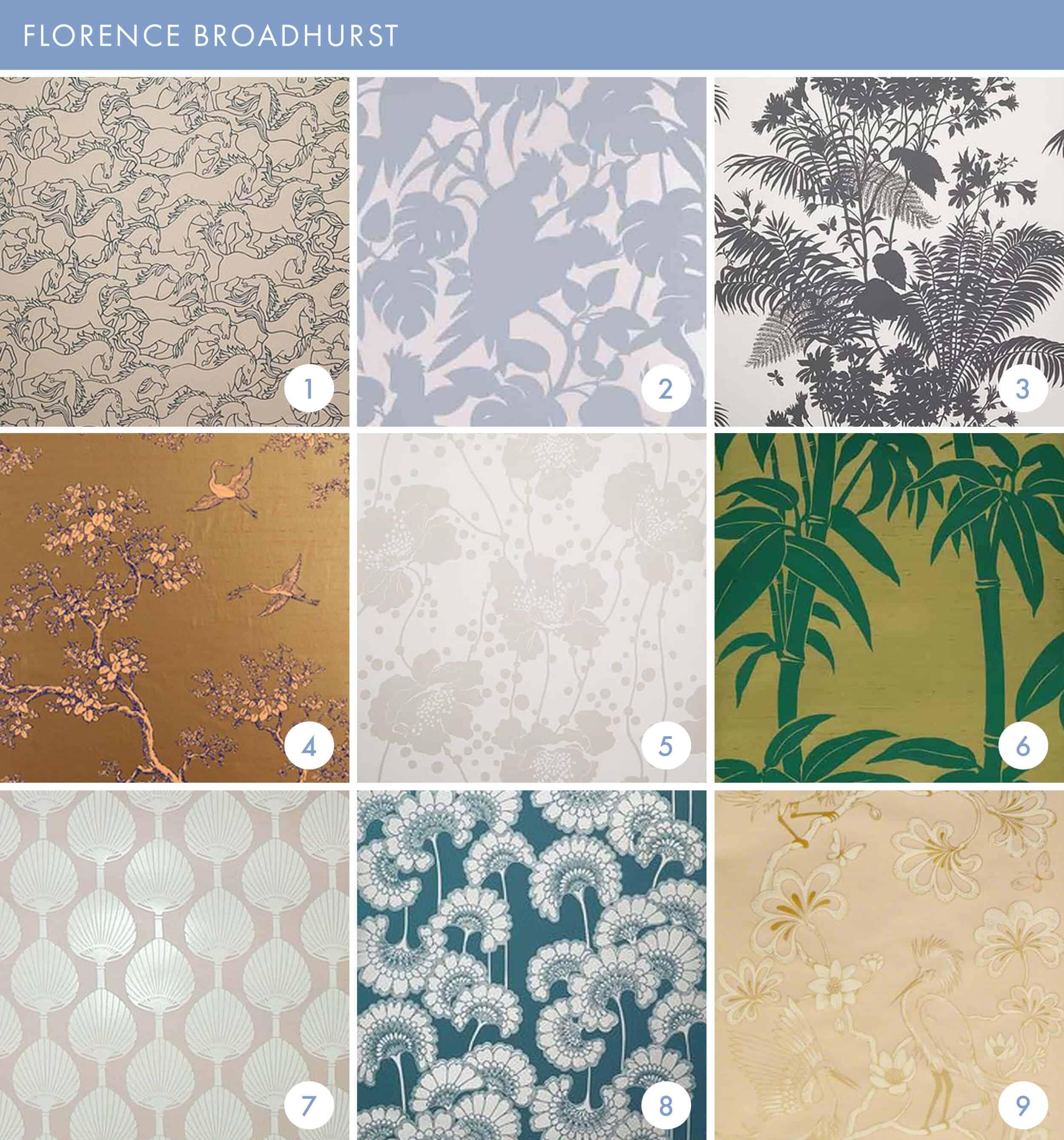 Emily Henderson Online Wallpaper Roundup Florence Broadhurst