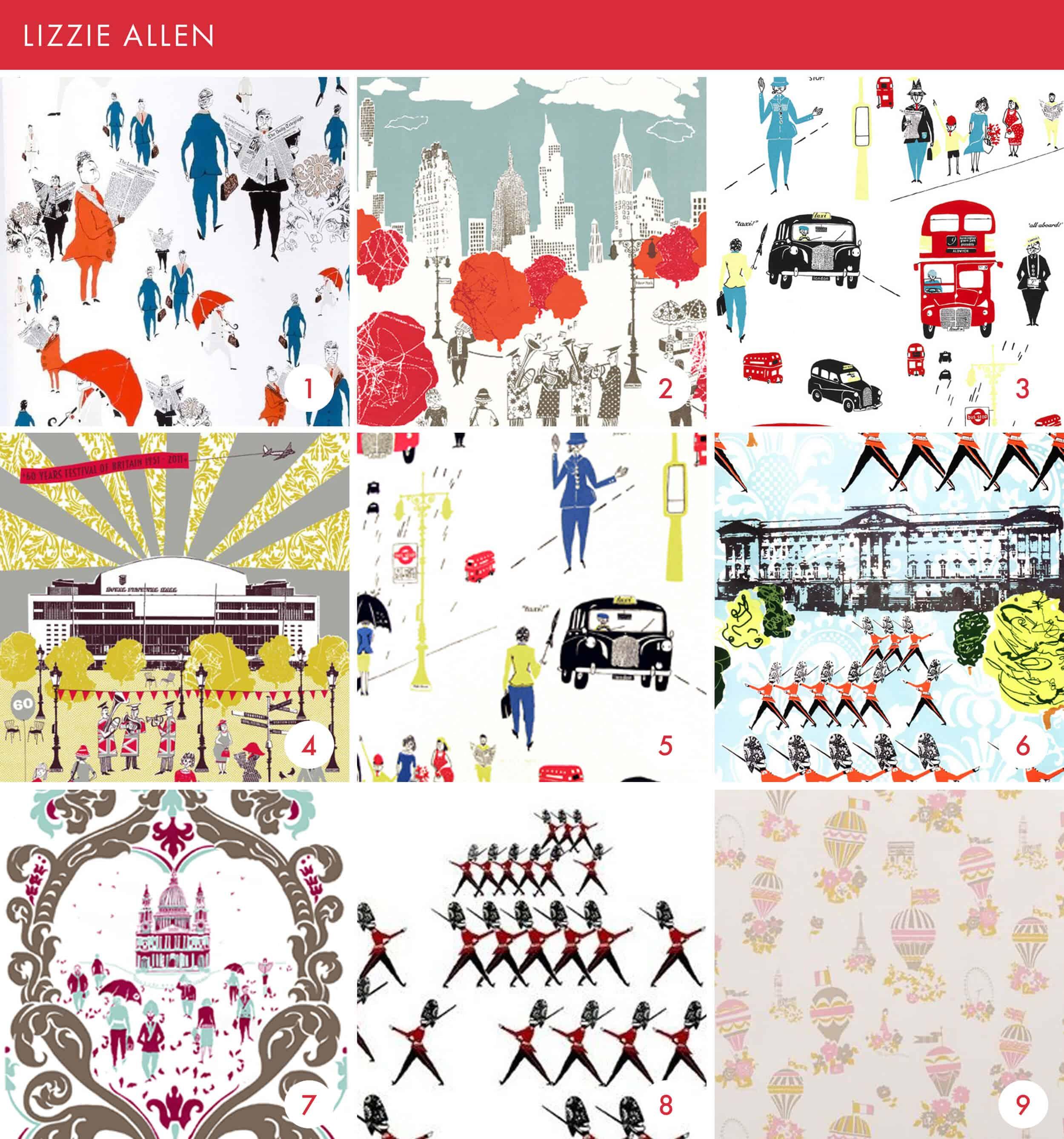 Emily Henderson Online Wallpaper Roundup Lizzie Allen