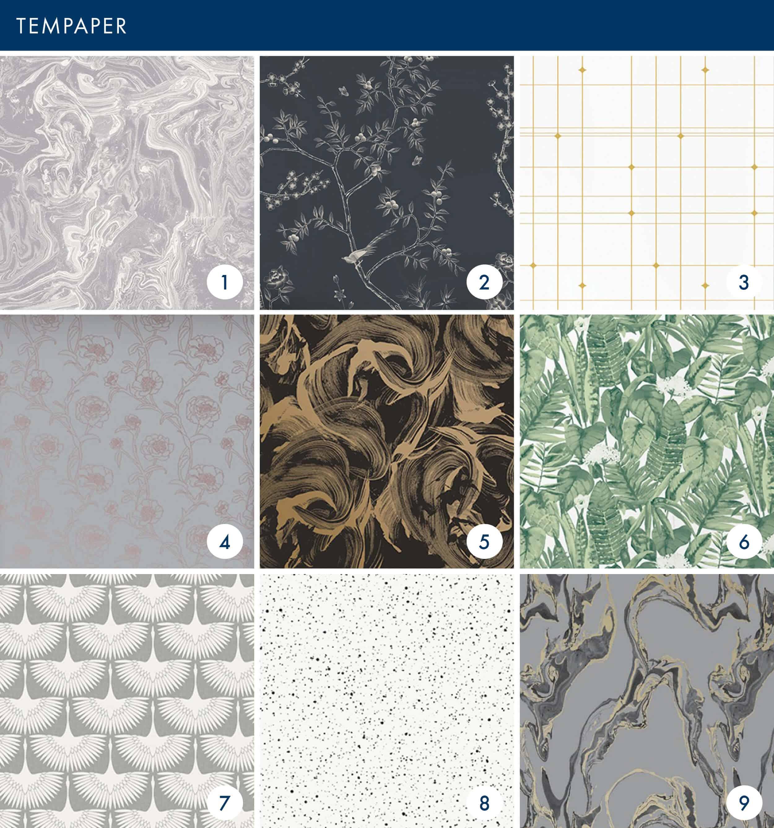 Emily Henderson Online Wallpaper Roundup Tempaper