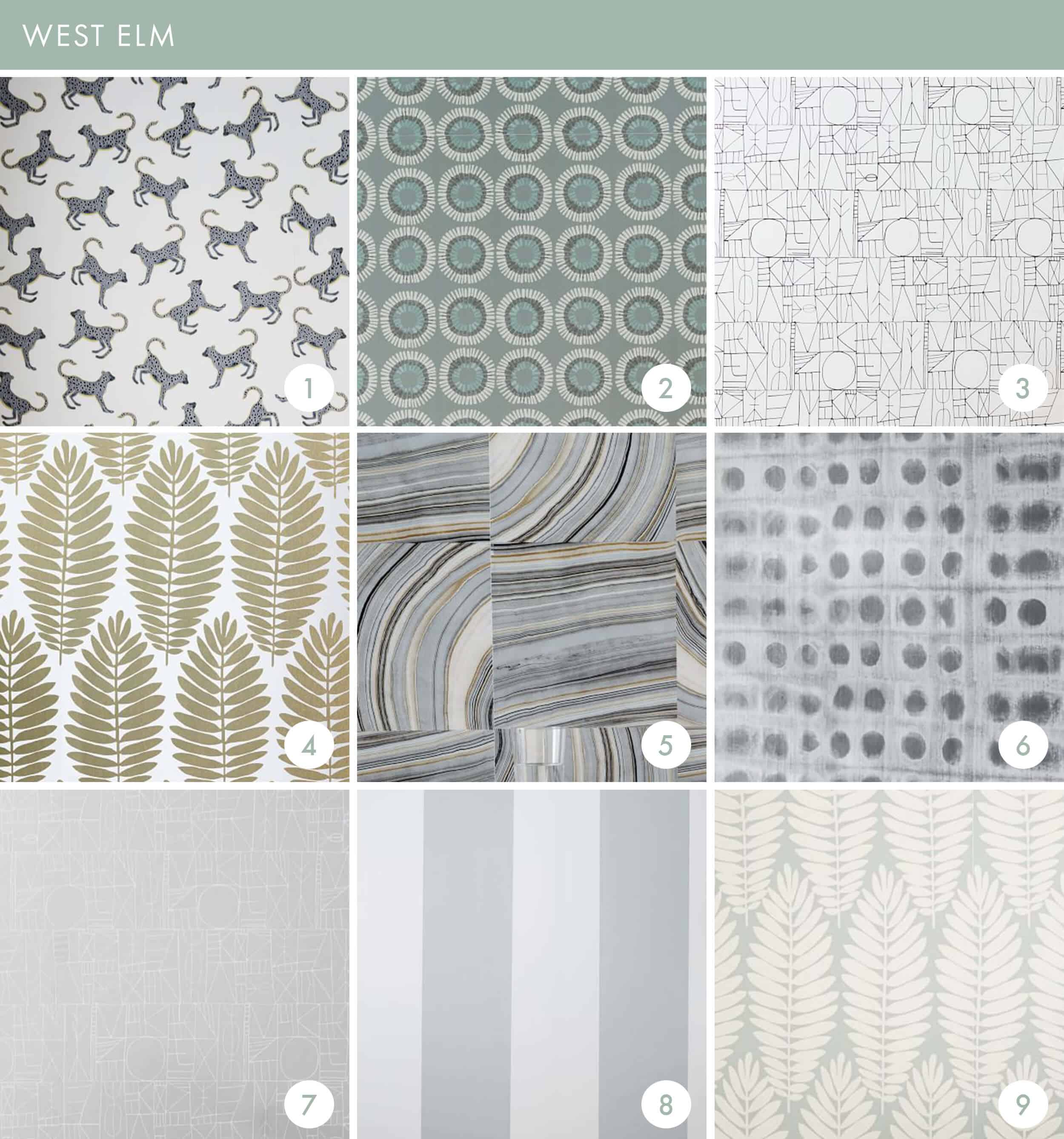 Emily Henderson Online Wallpaper Roundup West Elm