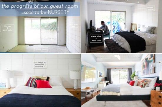Emily House_Girls Nursery_Guest Bedroom Progress