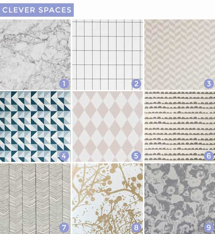 Wallpaper Roundup_Clever_Spaces