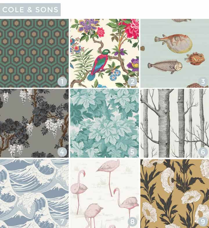 Wallpaper Roundup_Cole_And_Sons