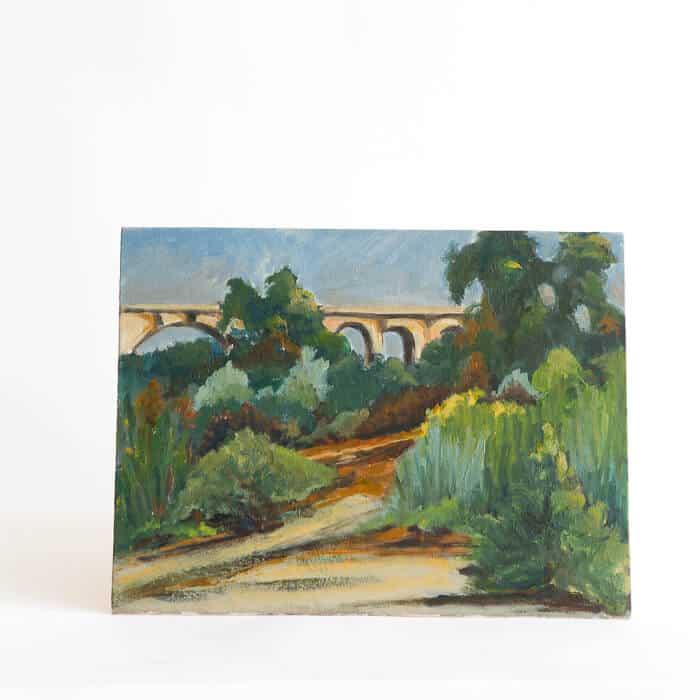 Emily_henderson_the_flea_206_bridge_landscape_painting