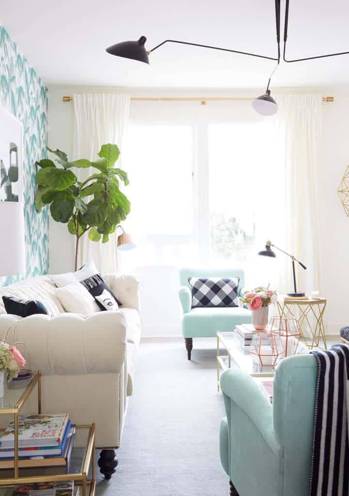 Target Living Room Furniture: Nicolette Mason's New Home - Emily