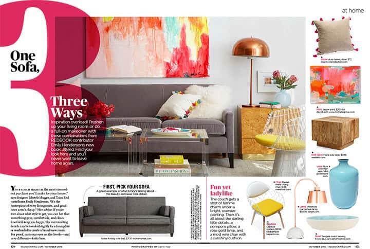 1 Sofa 4 Ways_Redbook_DIY_Styled Book_Emily Henderson_Midcentury Modern_PDF_1