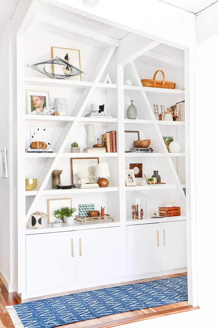 3 Steps To Styling Out Your Shelves Emily Henderson
