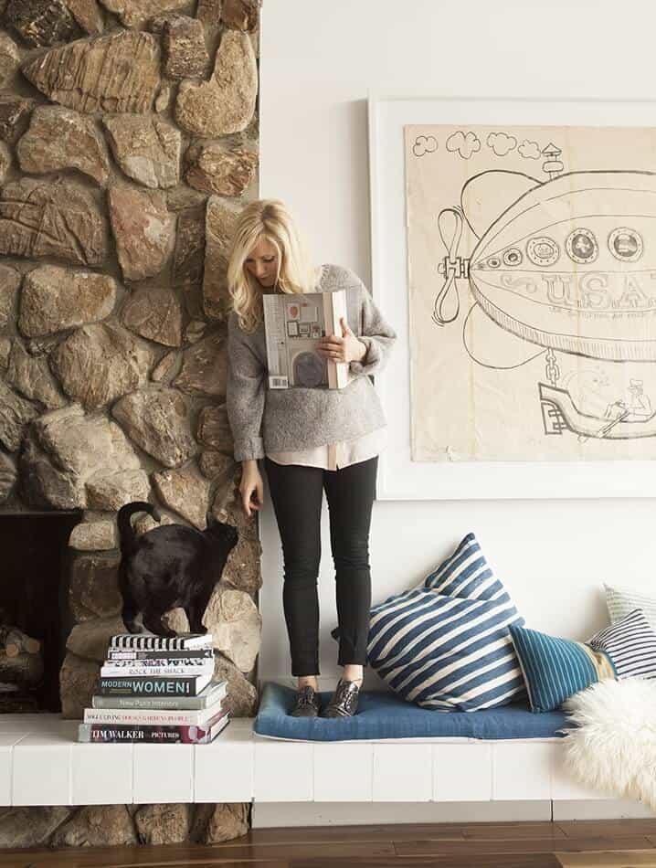 Emily_Henderson_Bearcat_Stone_Fireplace