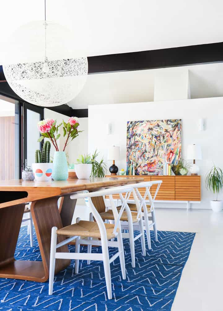 Emily_Henderson_Colorful_Mid_Century_Dining_Room