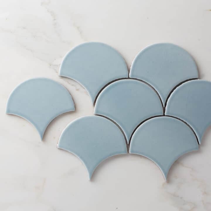 Fireclay_Blue_Scallop_Tile