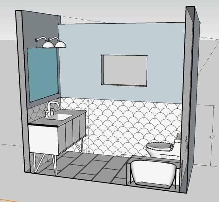 Master Bathroom_shower wall 1_rendering 1
