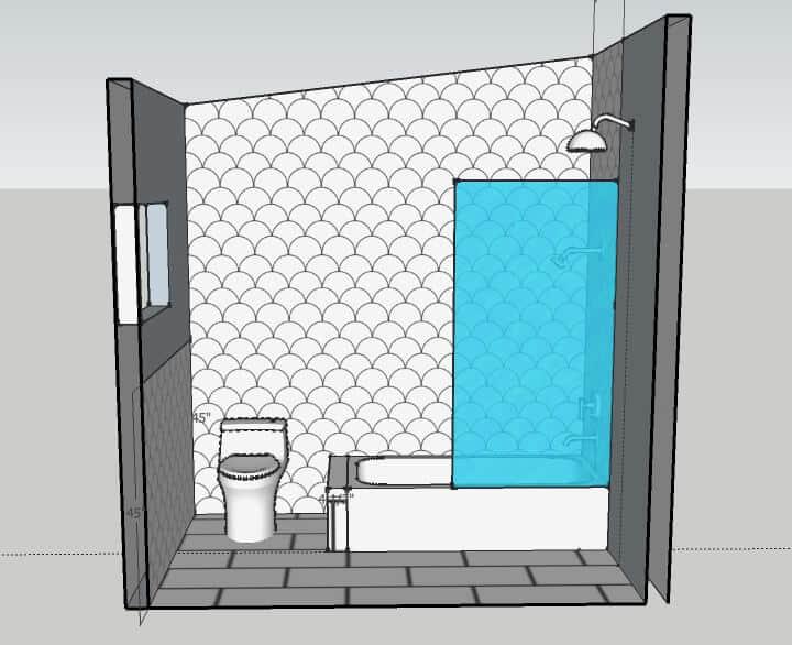 Master Bathroom_shower wall 1_rendering 3