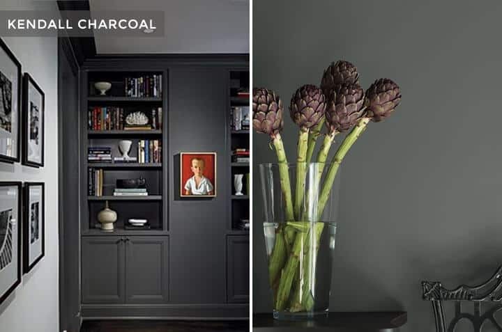 Brady Picks Out A Grey_Best Grey Paints_Kendall Charcoal