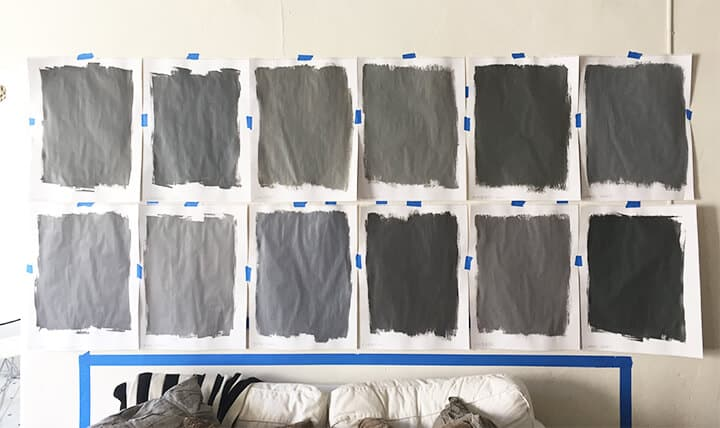 Brady Picks Out A Grey_Best Grey Paints_Living Room_Paint Colors