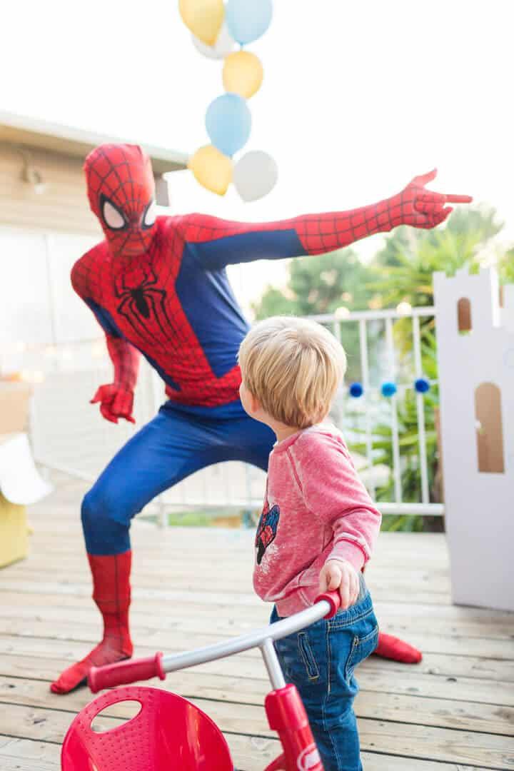 Decorations_Blue_Gold_White_Spiderman_Emily Henderson_Boys Birthday4