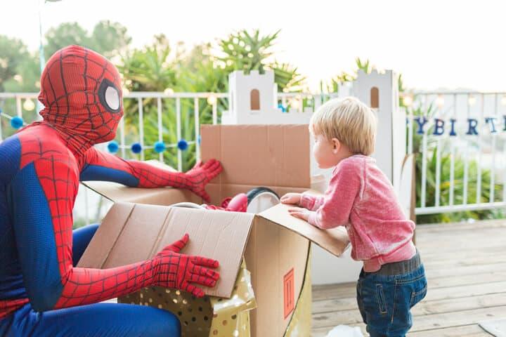 Decorations_Blue_Gold_White_Spiderman_Emily Henderson_Boys Birthday6