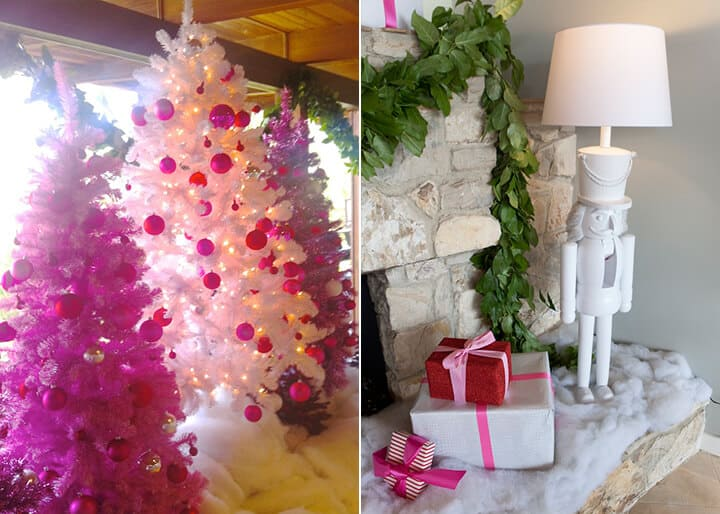 Emily Henderson Holiday Decorating_Pink_White_Red_Dancer_2