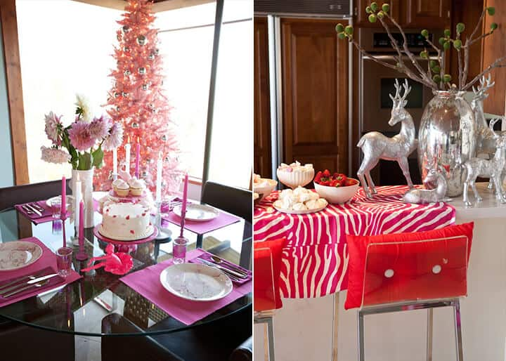 Emily Henderson Holiday Decorating_Pink_White_Red_Dancer_3