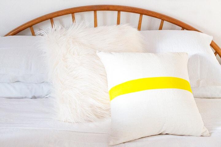 Fur_Throw_Pillow_Linen_Sheets_Vintage_Bead