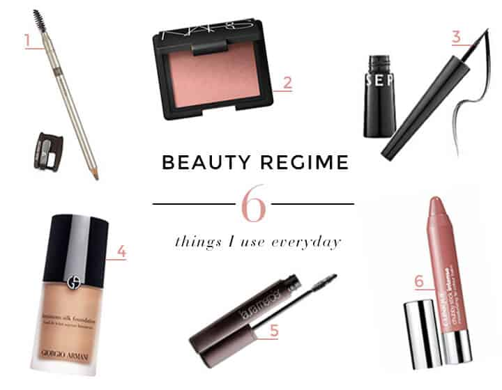 6 Beauty Products I Use Every day