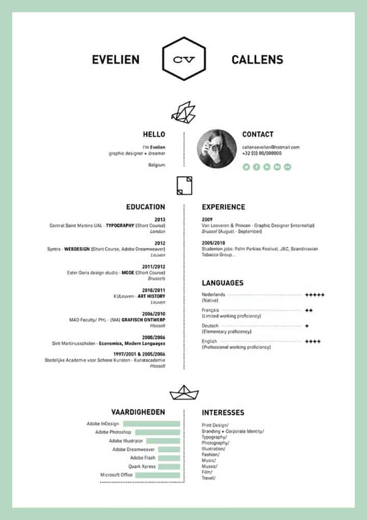 dissecting the good  and bad  resume