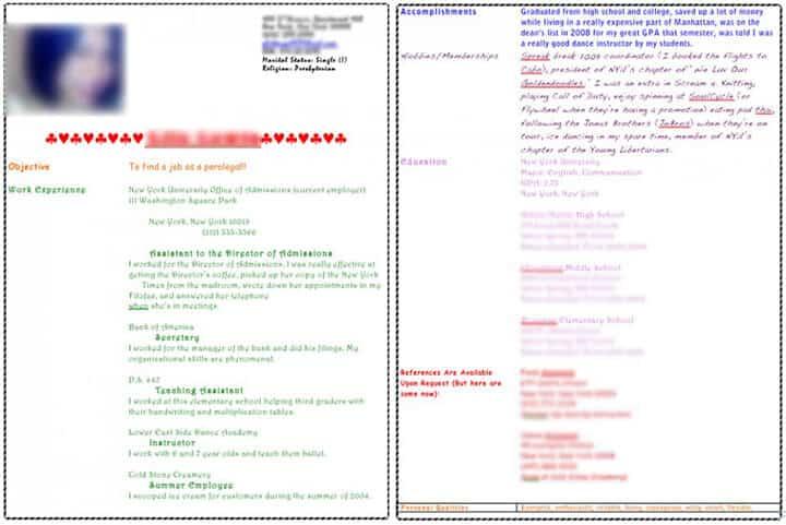 Phd organic chemist resume